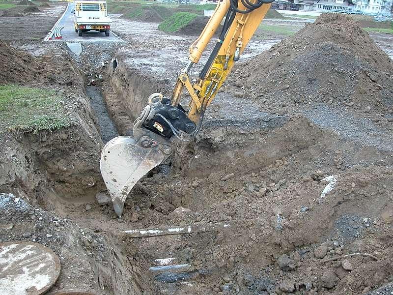 Bauingenieurwesen und Vermessung: Planung und Bauleitung von Erschliessungsprojekten