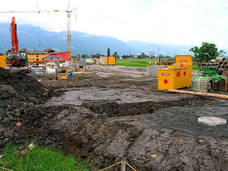 Bauingenieurwesen und Vermessung: Planung, Ausführung und Überwachung der Erschliessung ganzer Quartiere