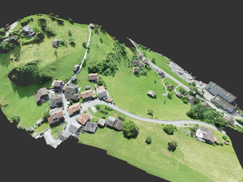Geomatik und Vermessung: 3D Gelände- und Gebäudemodell