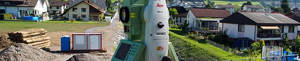 Geometer, Vermessung, Geomatik: Totalstationen zur Bauvermessung und Überwachung