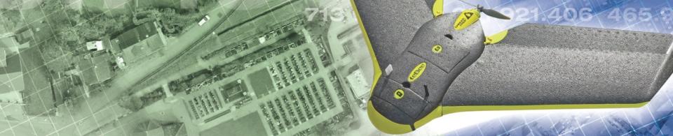 Geometer, Vermessung, Geomatik: Drohnen für Luftbilder und Geländemodelle