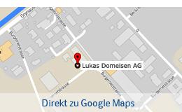 Standort Lukas Domeisen AG - Ingenieur, Geometer und Planer
